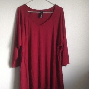 Love top tunic, NWOT